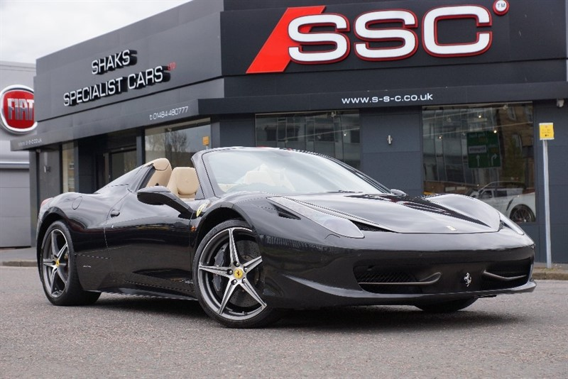 used Ferrari 458 Spider Auto Seq 2dr in yorkshire