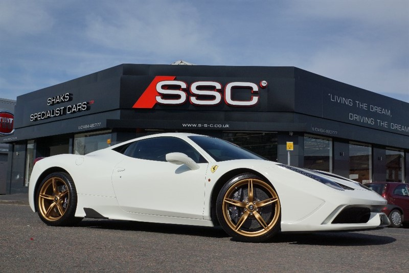 used Ferrari 458 Speciale 2dr in yorkshire