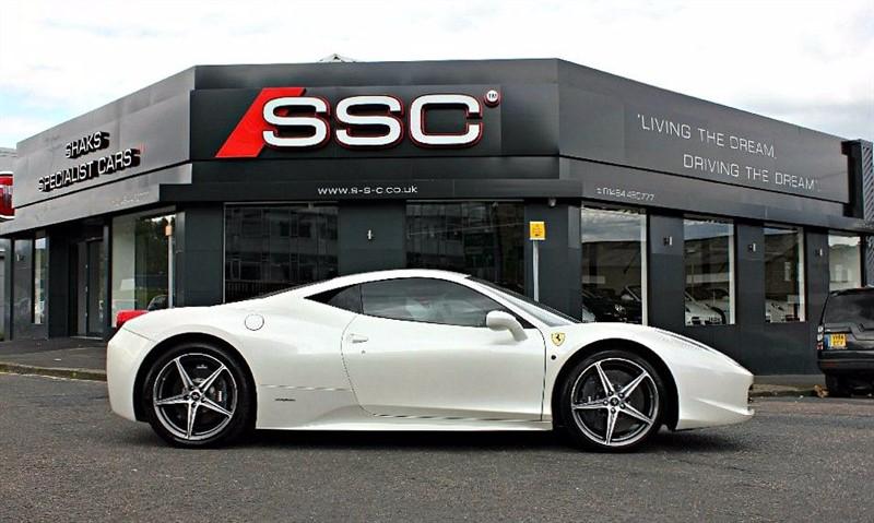used Ferrari 458 4.5 Italia 2dr in yorkshire