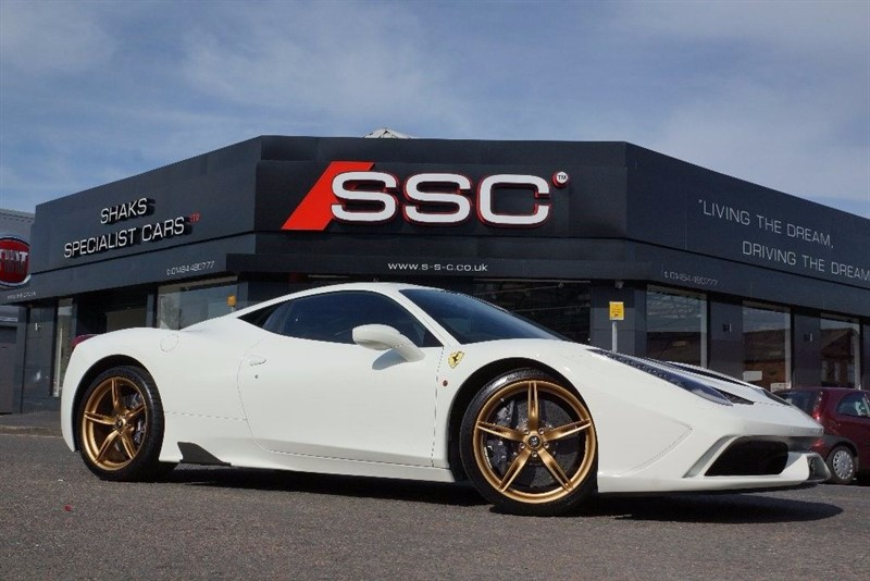 used Ferrari 458 4.5 Speciale 2dr in huddersfield-west-yorkshire