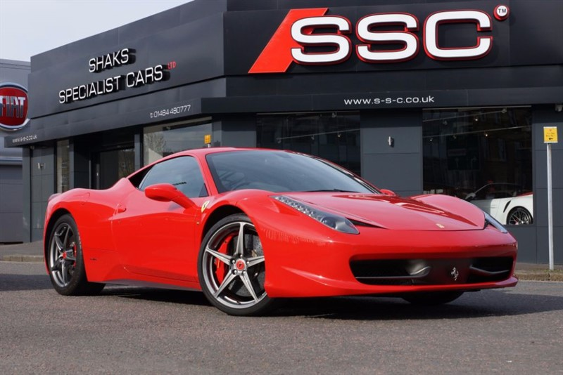 used Ferrari 458 4.5 Italia Auto Seq 2dr in yorkshire