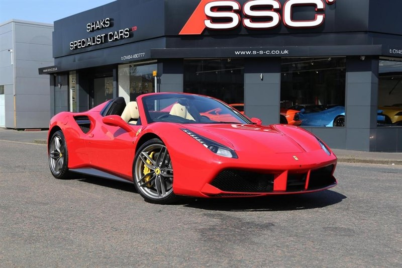 used Ferrari 488 Spider 2dr in huddersfield-west-yorkshire