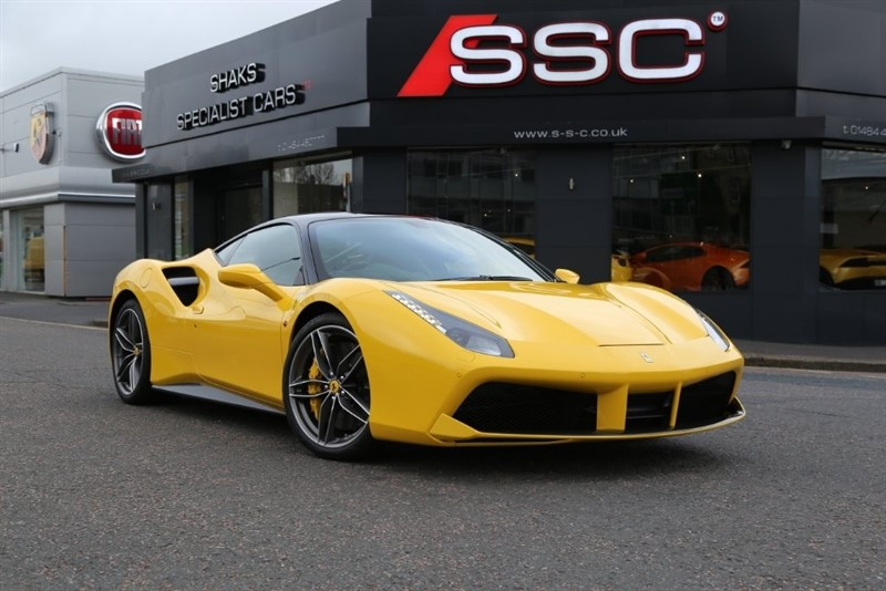 used Ferrari 488 GTB 2dr in huddersfield-west-yorkshire