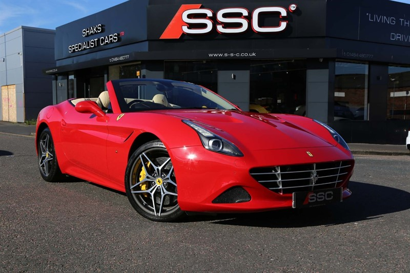 used Ferrari California 3.8 V8 T F1 DCT (s/s) in huddersfield-west-yorkshire
