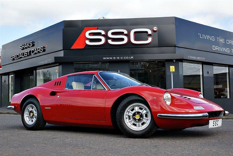 used Ferrari Dino  in yorkshire