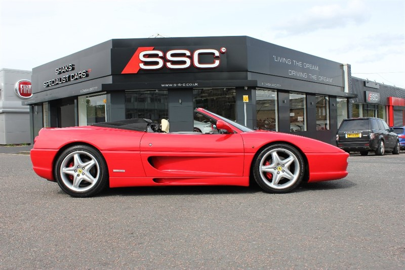 used Ferrari F355 3.5 Spider 2dr in yorkshire