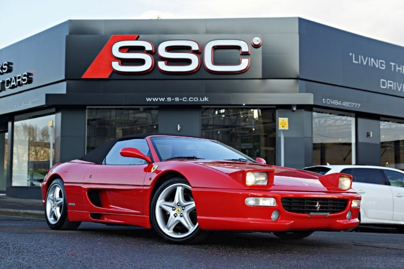 used Ferrari F355 SPIDER in yorkshire