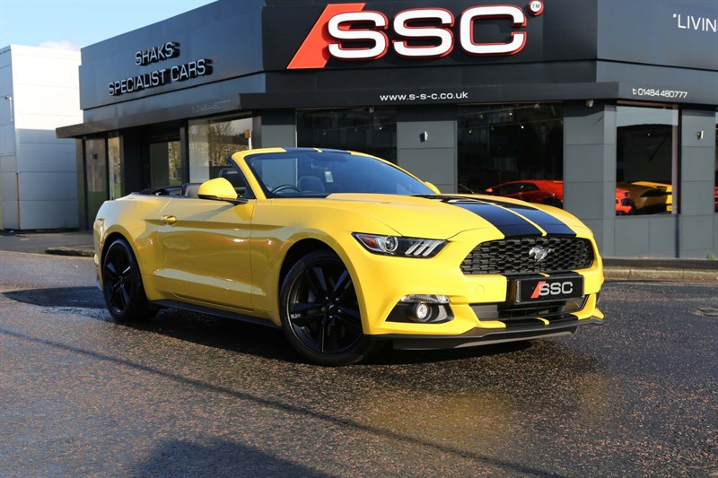 used Ford Mustang T EcoBoost 2dr in huddersfield-west-yorkshire