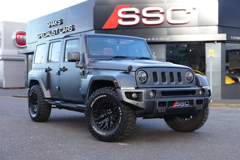 used Jeep Wrangler CRD Overland 4x4 4dr in yorkshire