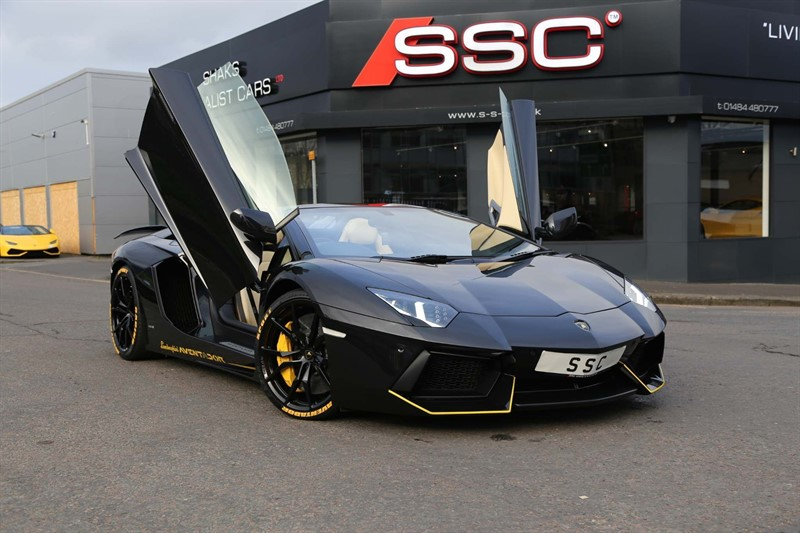 used Lamborghini Aventador V12 LP 700-4 Roadster ISR 4WD in huddersfield-west-yorkshire