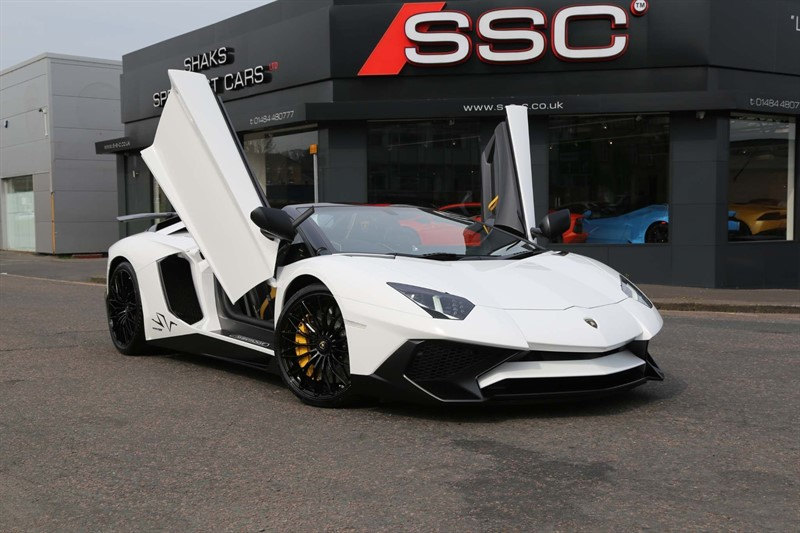 used Lamborghini Aventador V12 LP 750-4 Superveloce Roadster ISR 4WD in huddersfield-west-yorkshire