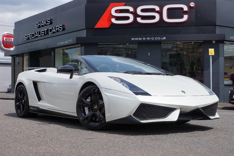 used Lamborghini Gallardo V10 Spyder E-Gear 4WD 2dr in yorkshire