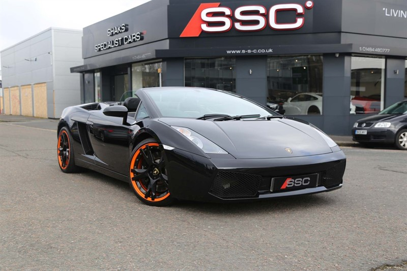 used Lamborghini Gallardo V10 Spyder E-Gear 4WD in huddersfield-west-yorkshire