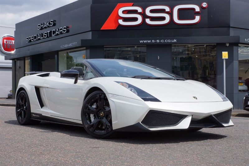 used Lamborghini Gallardo 5.0 V10 Spyder Spyder E-Gear 4WD 2dr in yorkshire