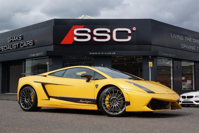 used Lamborghini Gallardo 5.0 V10 Superleggera in huddersfield-west-yorkshire