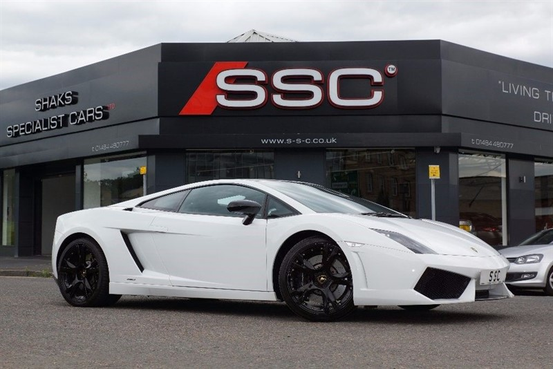 used Lamborghini Gallardo 5.2 V10 LP560-4 E-Gear 2dr in yorkshire