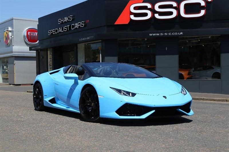 used Lamborghini Huracan LP 610-4 Spyder Auto Seq 4WD 2dr in huddersfield-west-yorkshire