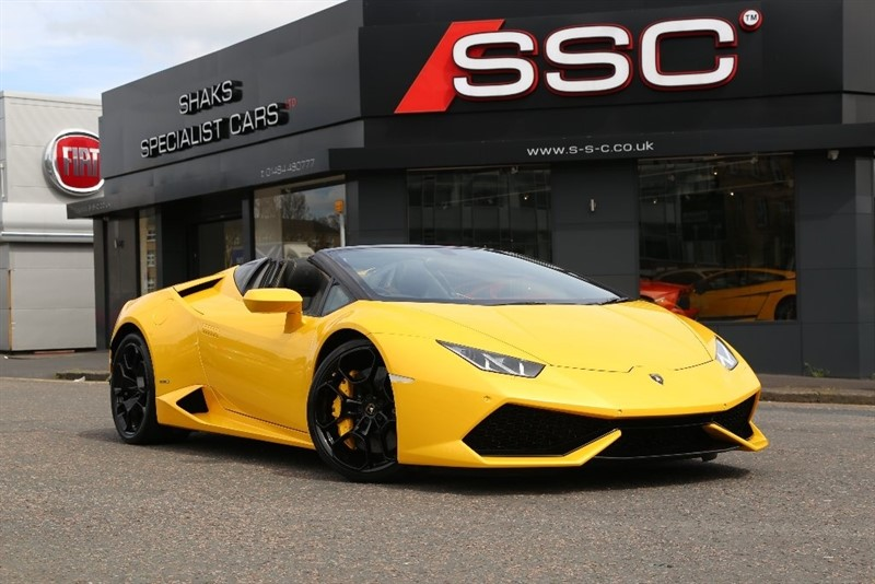 used Lamborghini Huracan 5.2 LP 610-4 Spyder Auto Seq 4WD 2dr in huddersfield-west-yorkshire