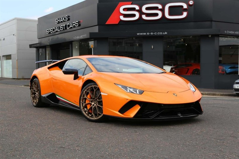 used Lamborghini Huracan V10 LP 640-4 Performante LDF 4WD (s/s) 2dr in huddersfield-west-yorkshire