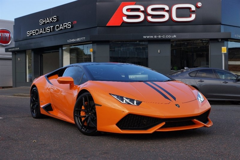 used Lamborghini Huracan LP 610-4 Auto Seq 4WD 2dr in yorkshire