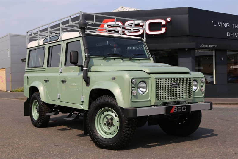 used Land Rover Defender 110 Heritage Edition Station Wagon in huddersfield-west-yorkshire