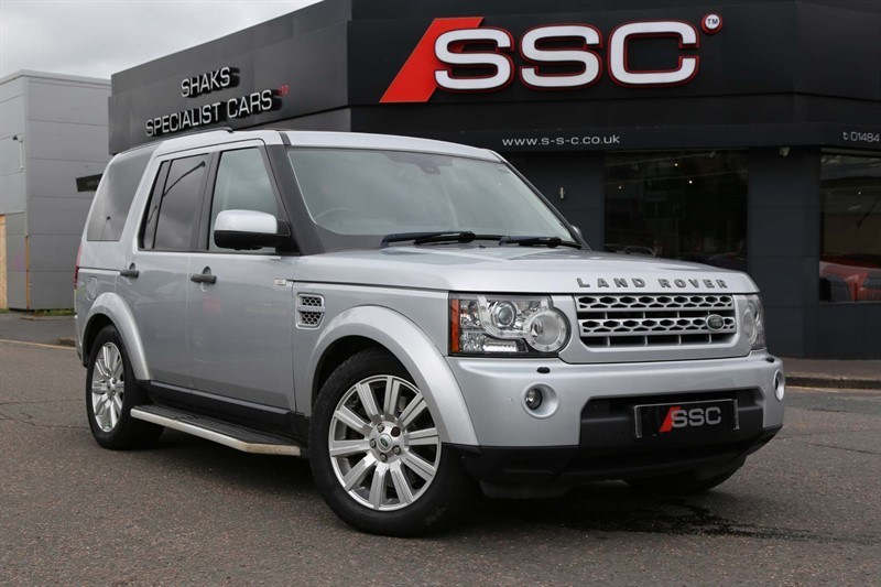 used Land Rover Discovery 4 SD V6 HSE in huddersfield-west-yorkshire