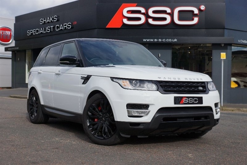 used Land Rover Range Rover Sport SD V8 Autobiography Dynamic 4x4 5dr in huddersfield-west-yorkshire