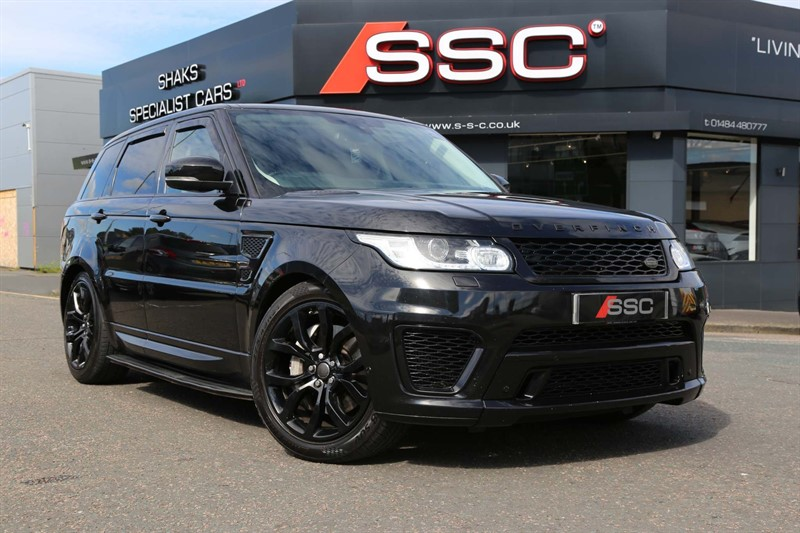 used Land Rover Range Rover Sport SD V6 HSE 4X4 (s/s) in huddersfield-west-yorkshire