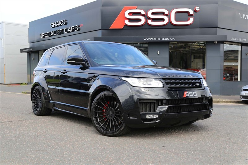 used Land Rover Range Rover Sport SD V6 HSE Dynamic 4X4 (s/s) 5dr in huddersfield-west-yorkshire