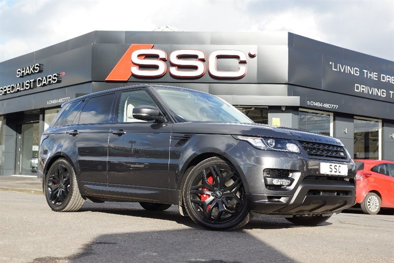 used Land Rover Range Rover Sport SD V6 Autobiography Dynamic 4WD 5dr (start/stop) in yorkshire