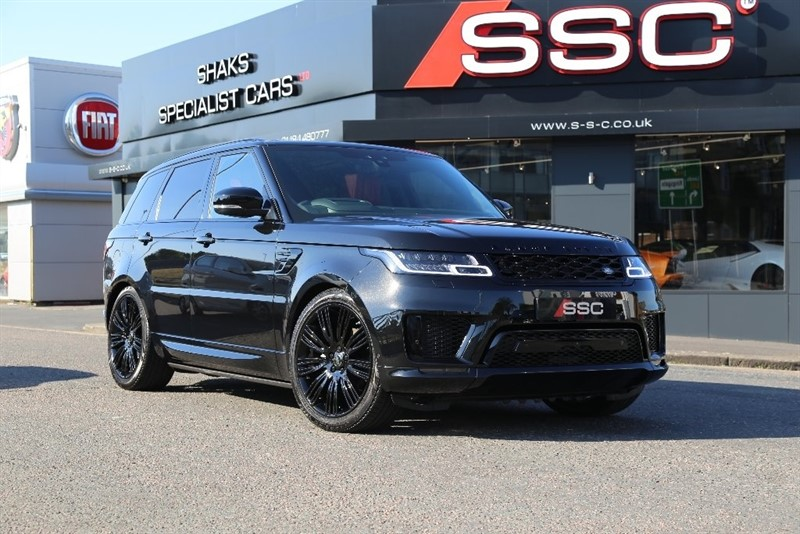 used Land Rover Range Rover Sport SD V6 Autobiography Dynamic CommandShift 2 AWD (s/s) 5dr in yorkshire