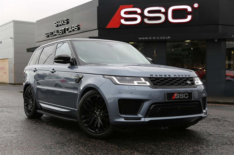 used Land Rover Range Rover Sport SD V6 Autobiography Dynamic Auto 4WD (s/s) in huddersfield-west-yorkshire