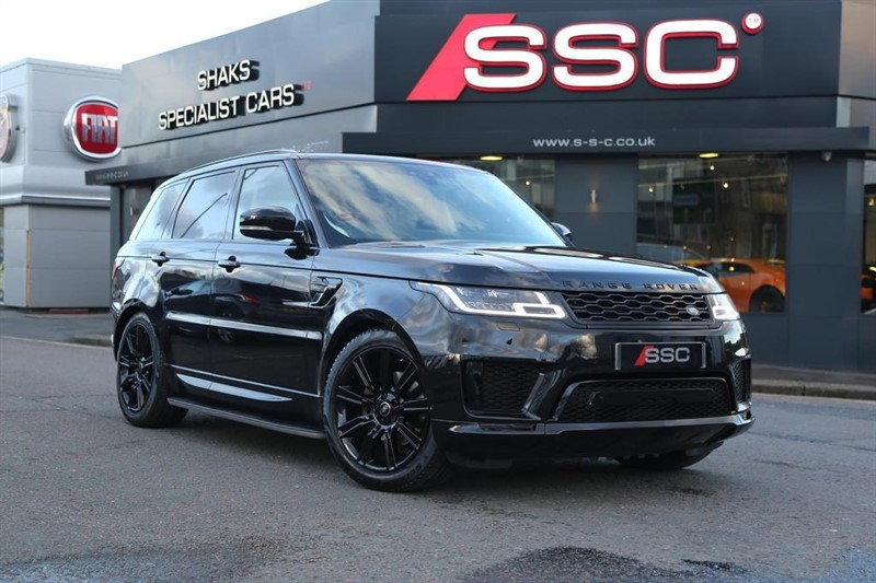 used Land Rover Range Rover Sport SD V6 HSE Dynamic CommandShift 2 AWD (s/s) 5dr in huddersfield-west-yorkshire