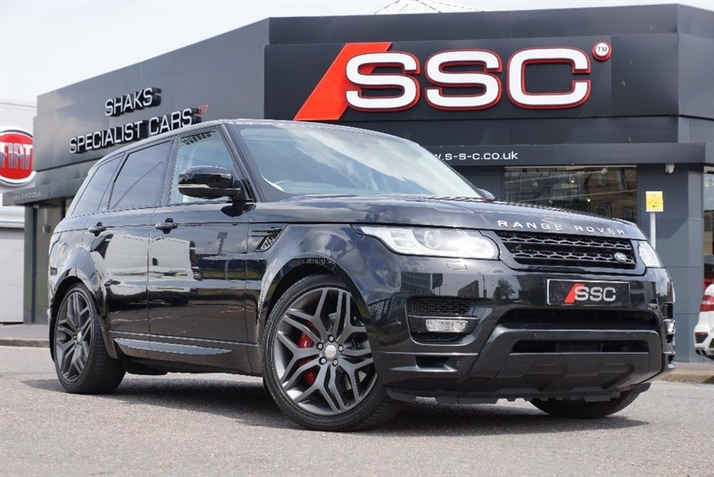 used Land Rover Range Rover Sport SD V6 Autobiography Dynamic Station Wagon 4x4 5dr (start/stop) in yorkshire
