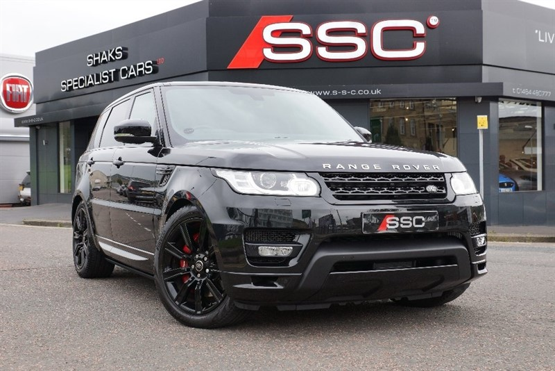 used Land Rover Range Rover Sport SD V8 Autobiography Dynamic 5dr (start/stop) in yorkshire