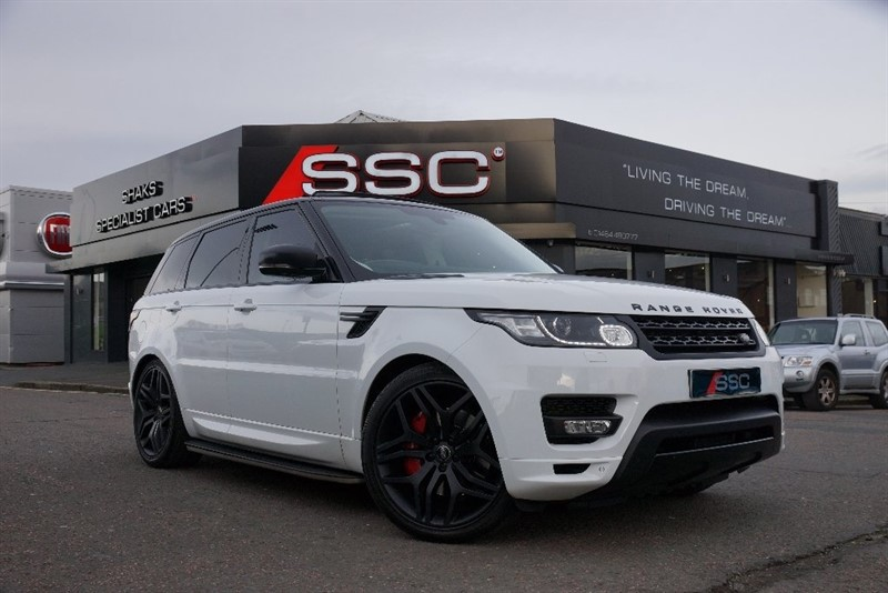 used Land Rover Range Rover Sport SD V6 HSE Dynamic Station Wagon 4x4 5dr (start/stop) in yorkshire