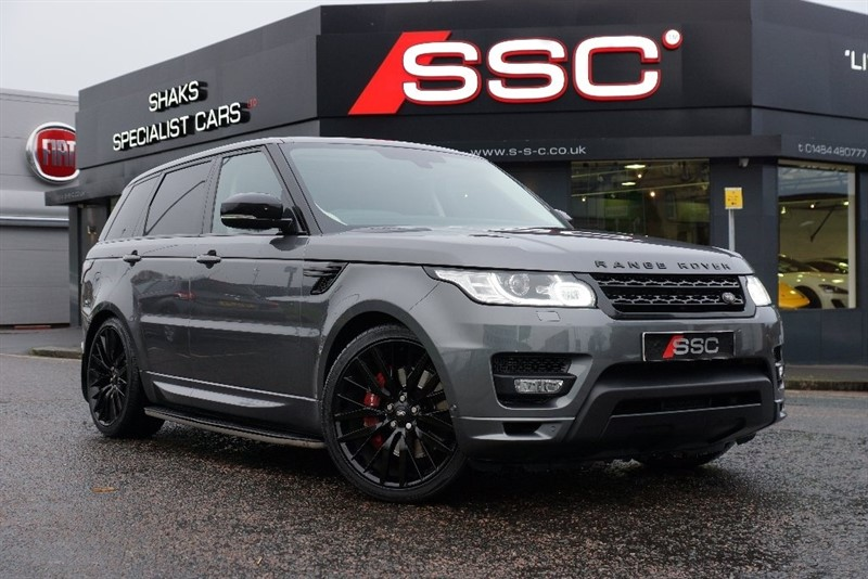 used Land Rover Range Rover Sport SD V6 HSE 4X4 5dr (start/stop) in yorkshire