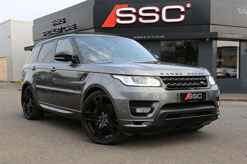 used Land Rover Range Rover Sport SD V8 Autobiography Dynamic 4X4 in huddersfield-west-yorkshire