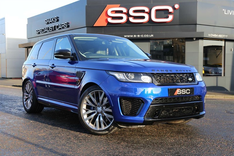 used Land Rover Range Rover Sport V8 SVR 4X4 (s/s) in huddersfield-west-yorkshire