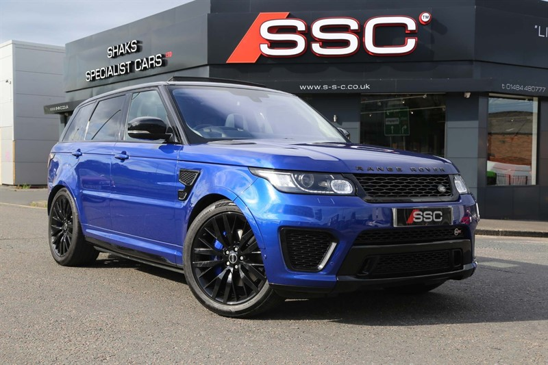 used Land Rover Range Rover Sport V8 Supercharged SVR 4X4 (s/s) in huddersfield-west-yorkshire