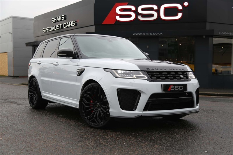 used Land Rover Range Rover Sport P575 V8 SVR Auto 4WD (s/s) 5dr in huddersfield-west-yorkshire