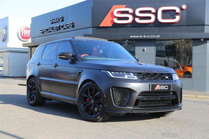 used Land Rover Range Rover Sport V8 Supercharged SVR CommandShift 2 AWD (s/s) 5dr in huddersfield-west-yorkshire