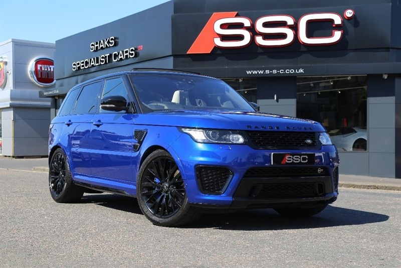 used Land Rover Range Rover Sport V8 Supercharged SVR 4X4 (s/s) 5dr in yorkshire