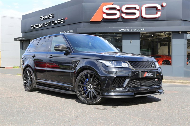 used Land Rover Range Rover Sport V8 Supercharged SVR 4X4 (s/s) 5dr in huddersfield-west-yorkshire