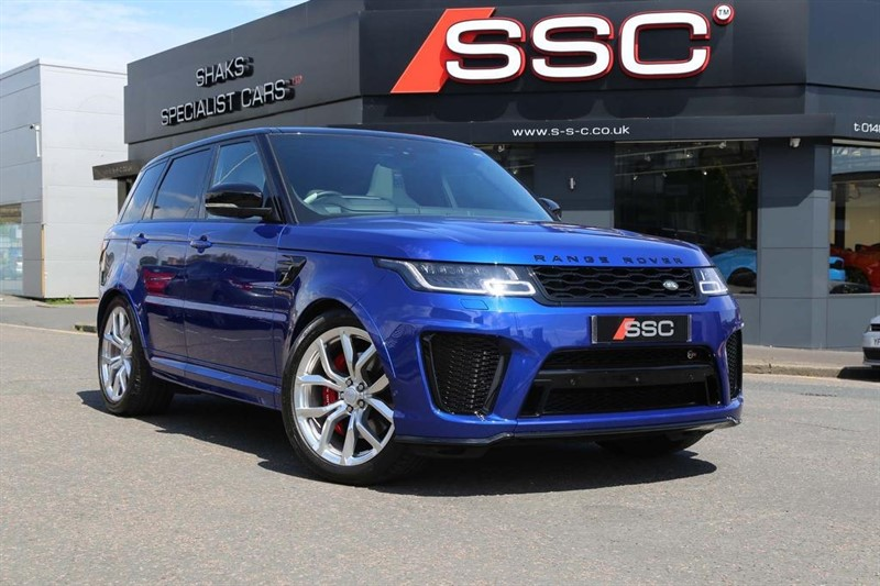 used Land Rover Range Rover Sport V8 SVR CommandShift 2 4X4 (s/s) 5dr in huddersfield-west-yorkshire