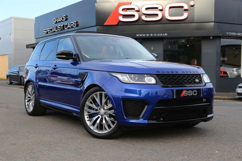 used Land Rover Range Rover Sport V8 SVR (s/s) in huddersfield-west-yorkshire