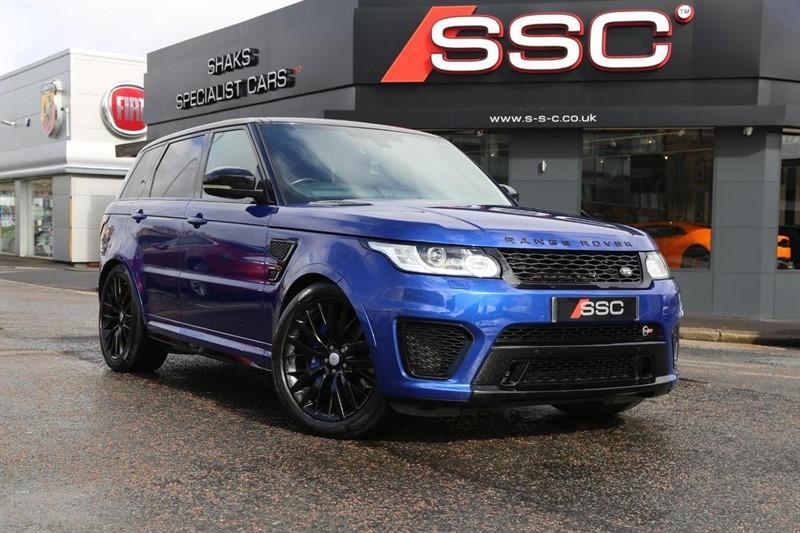 used Land Rover Range Rover Sport V8 SVR (s/s) 5dr in huddersfield-west-yorkshire