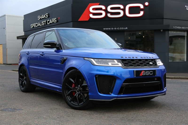 used Land Rover Range Rover Sport V8 SVR Auto 4WD (s/s) in huddersfield-west-yorkshire