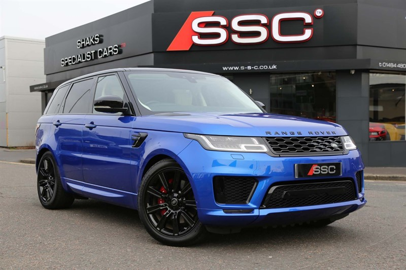 used Land Rover Range Rover Sport P400e 13.1kWh GPF Autobiography Dynamic Auto 4WD (s/s) in huddersfield-west-yorkshire
