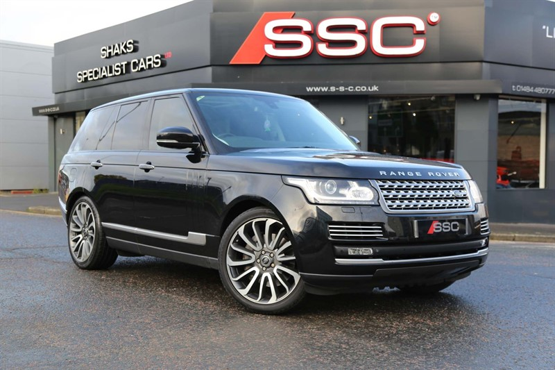 used Land Rover Range Rover SD V8 Autobiography Auto 4WD 5dr in huddersfield-west-yorkshire